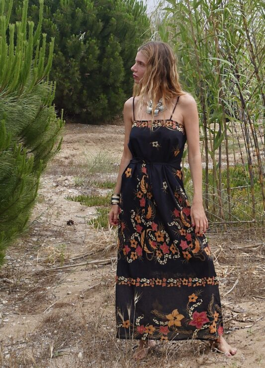 Celia Dragouni The Balinese Slip On Dress