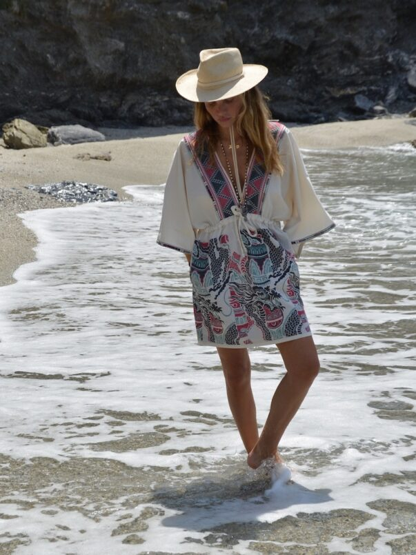 Celia Dragouni The Piassa Kaftan Dress