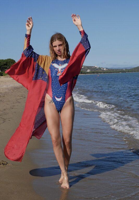 Celia Dragouni The Wonder Eagle Blue