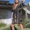 Celia Dragouni The Balinese Ruffled Mini Dress