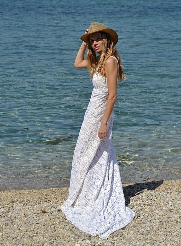 Celia Dragouni The Clunny Wedding Dress
