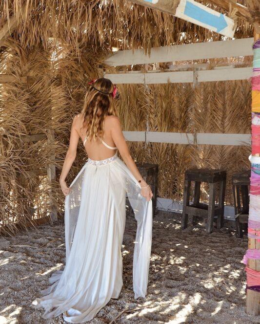 Celia Dragouni The Aloha Wedding Dress