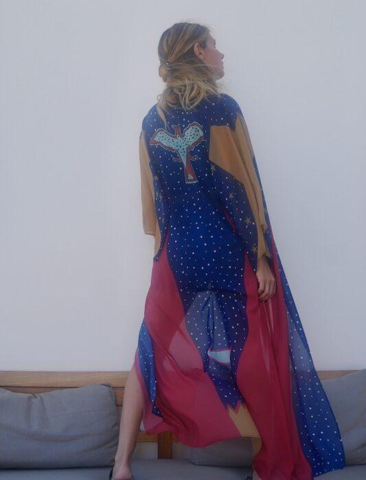 Celia Dragouni The Wonder Eagle Kimono Robe