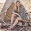 Celia Dragouni 70s Beauty Short Dress