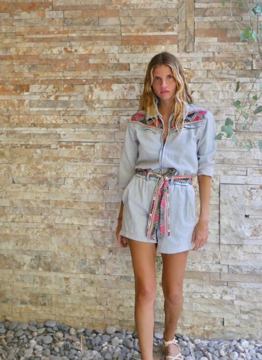 Celia Dragouni The Valia Playsuit