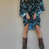 Celia Dragouni The Blueflower Kimono Dress