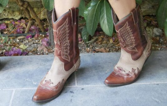 Celia Dragouni The Brown Eagle Boots