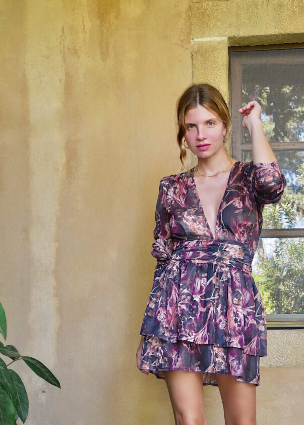 Celia Dragouni The Violet Dress
