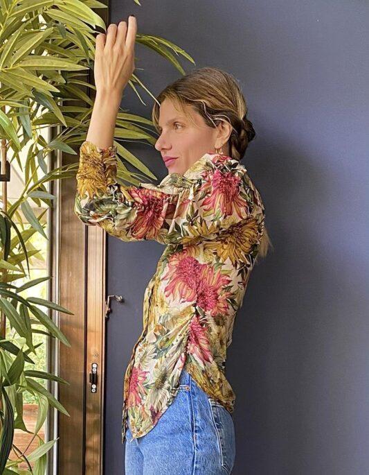 Celia Dragouni The Floral Victorian Shirt