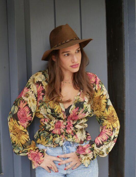 Celia Dragouni The Fleury Ruffled Shirt