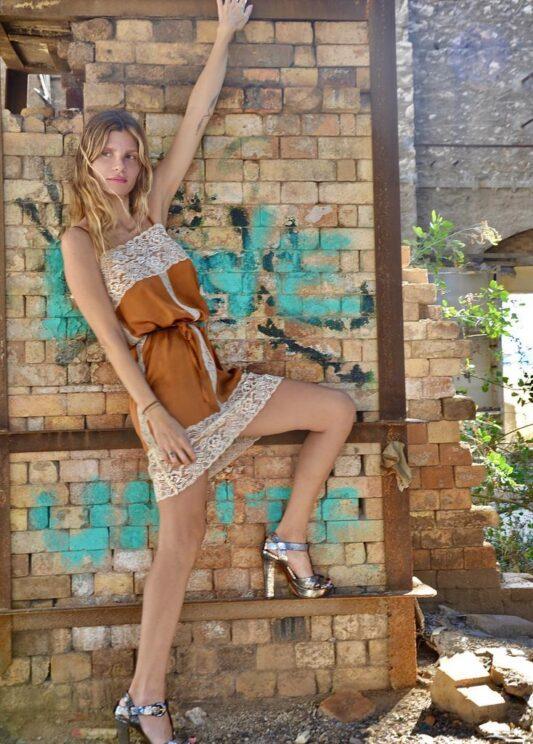 Celia Dragouni The Silky Ekai Negligee Dress
