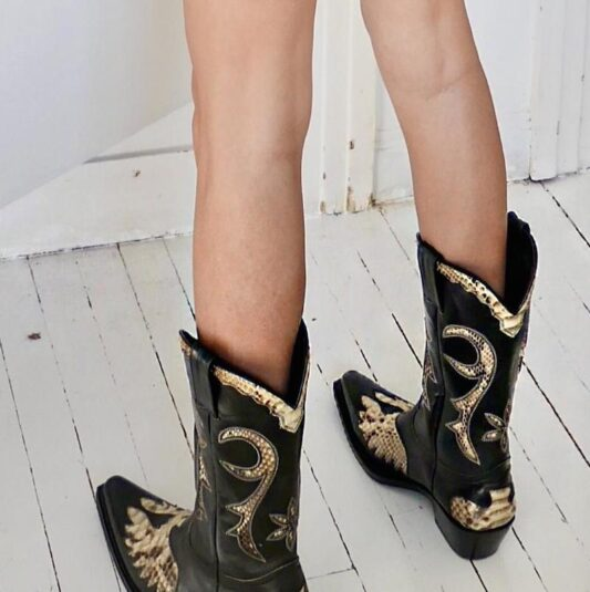 Celia Dragouni The Diego Boots