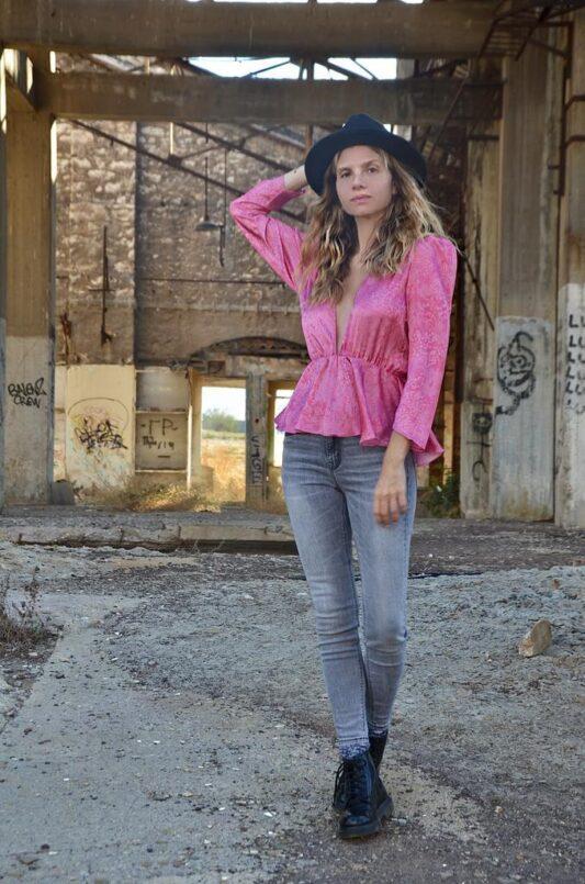Celia Dragouni The Annalise Top