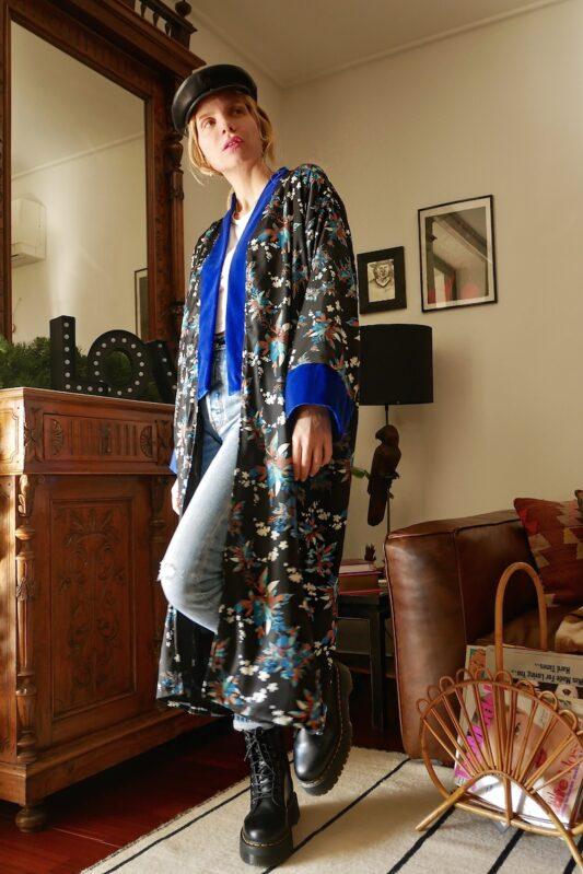 Celia Dragouni The Laura Kimono
