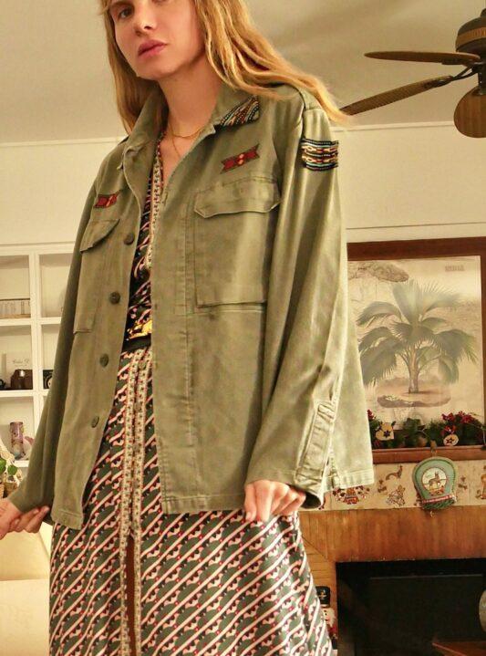 Celia Dragouni The Takoma Army Shirt