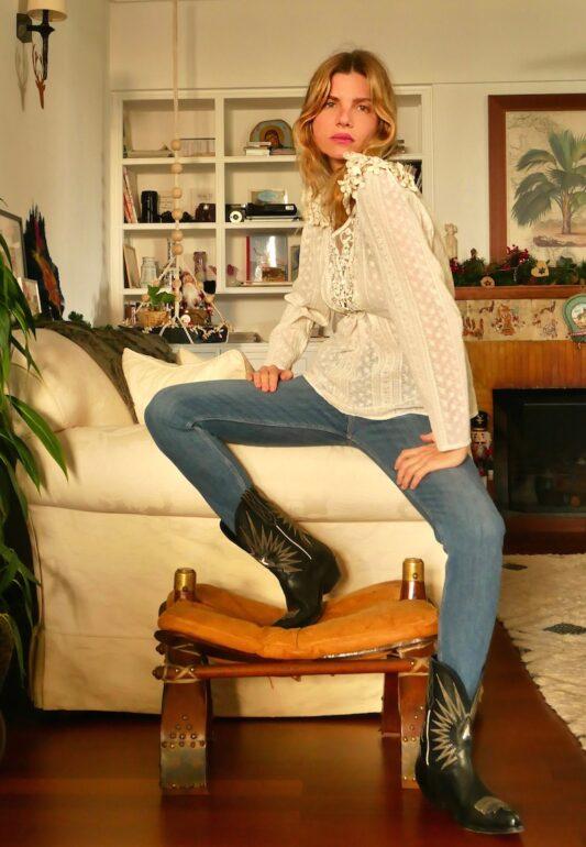Celia Dragouni The Polka Top