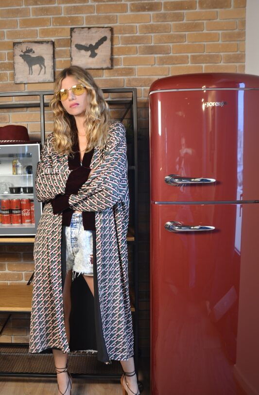 Celia Dragouni The Greenwich Kimono Robe