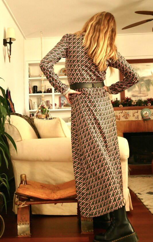Celia Dragouni The Greenwich Button Dress