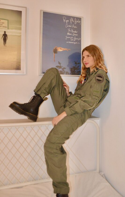 Celia Dragouni The Top Gun 1 Jumpsuit