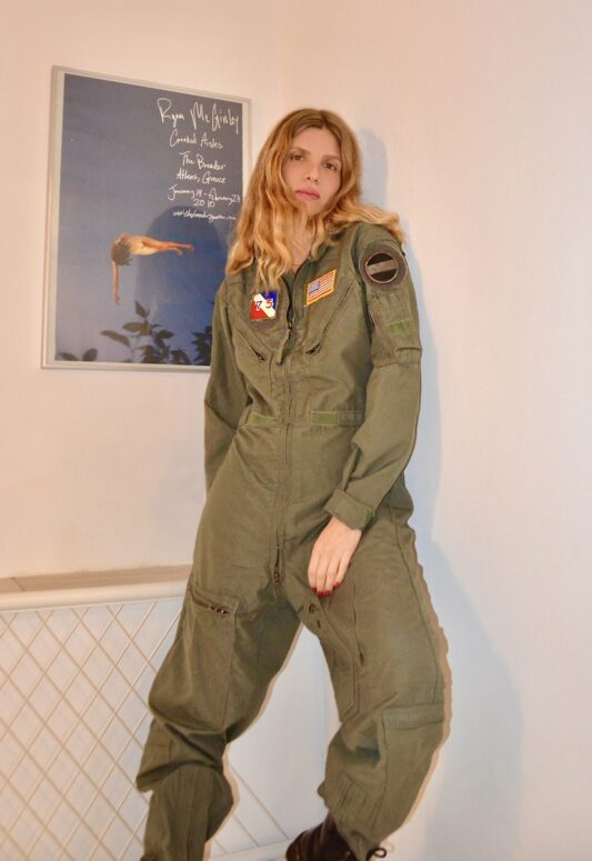Celia Dragouni The Top Gun 1 Jumpsuit