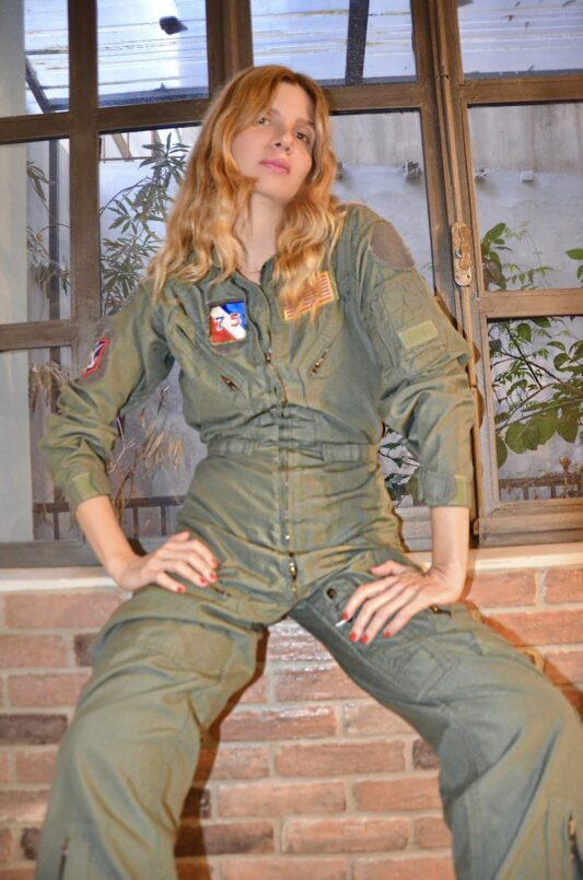 Celia Dragouni The Top Gun 2 Jumpsuit