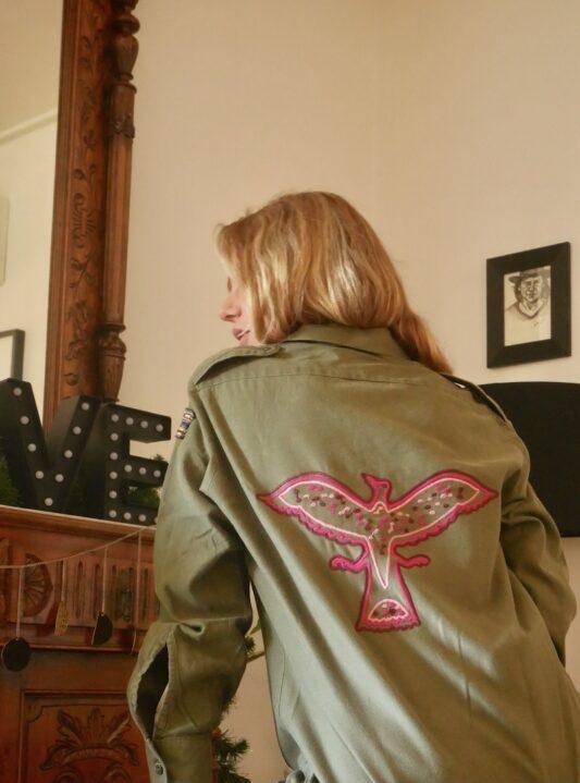 Celia Dragouni The Pink Eagle