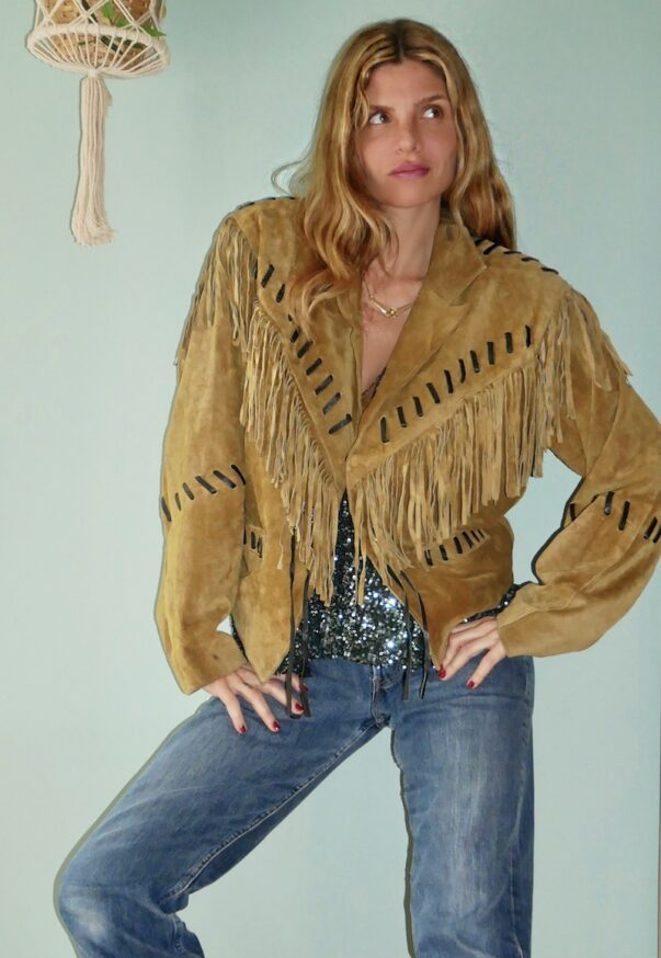 Celia Dragouni The Woodstock Jacket
