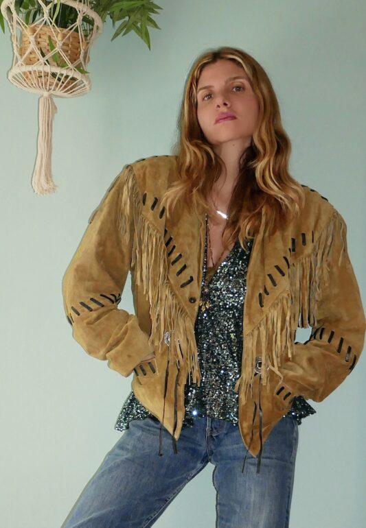 Celia Dragouni The Woodstock Jacket