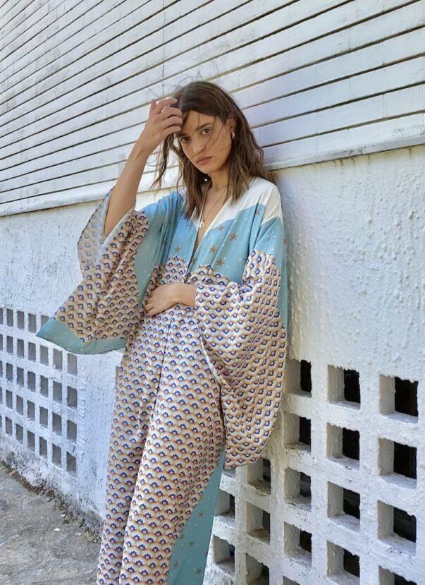 Celia Dragouni The Peaceful Arrow Kimono
