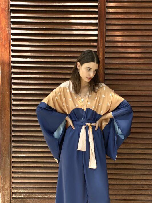 Celia Dragouni The Blue Sun Kimono