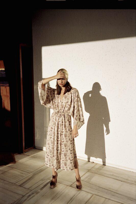 Celia Dragouni The Catori Kaftan Dress
