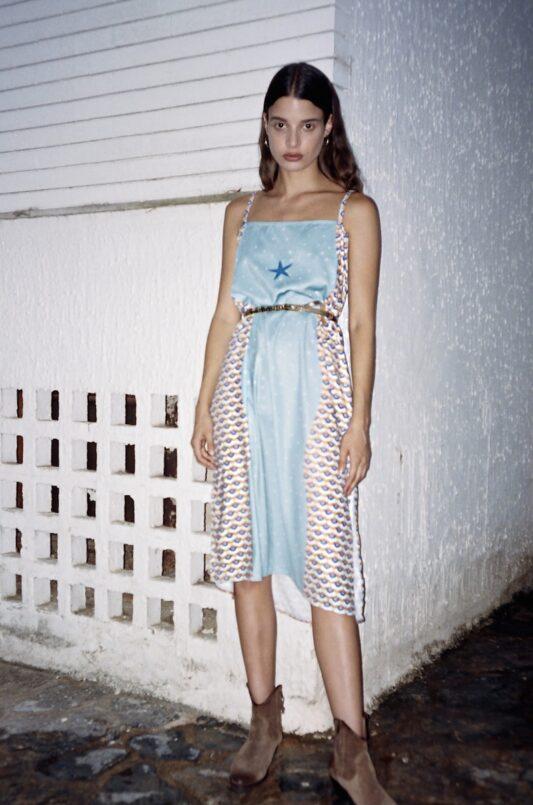 Celia Dragouni The Midi Enola Slip On Dress