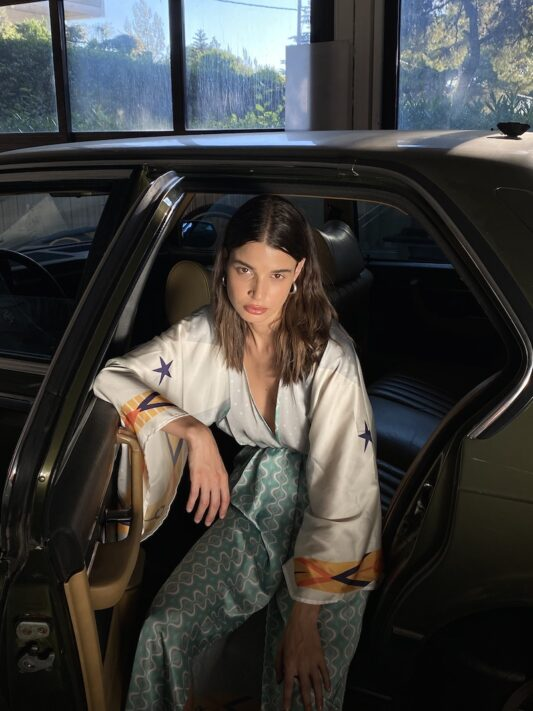 Celia Dragouni The Happiness Kimono Dress