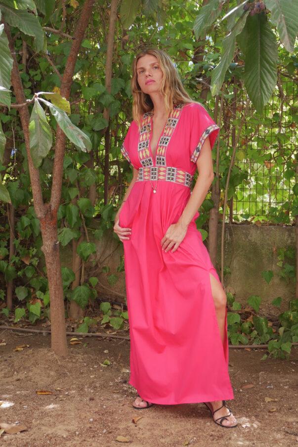Celia Dragouni The Salman Fussia Kaftan Dress