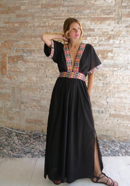 Celia Dragouni The Odina Kaftan Dress
