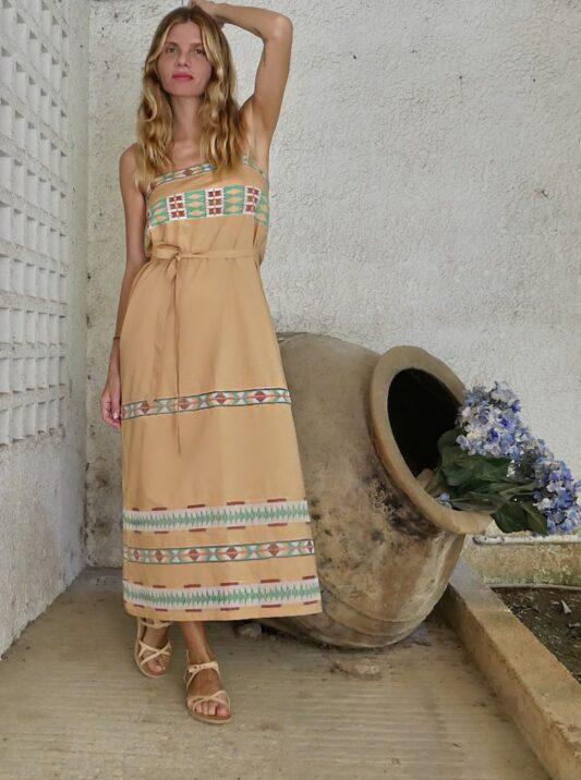 Celia Dragouni The Tiva Slip On Dress