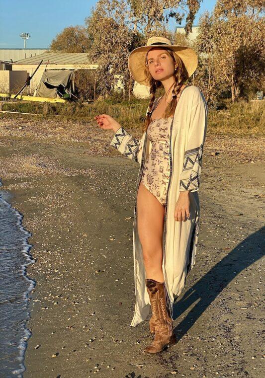 Celia Dragouni The Tayen Kimono Robe