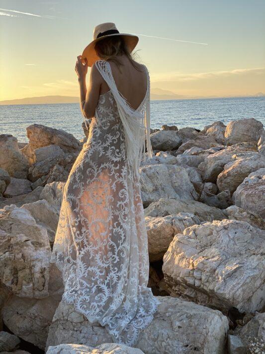 Celia Dragouni The Fringe Dance Dress