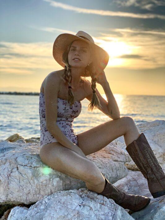 Celia Dragouni The Catori Strapless One Piece