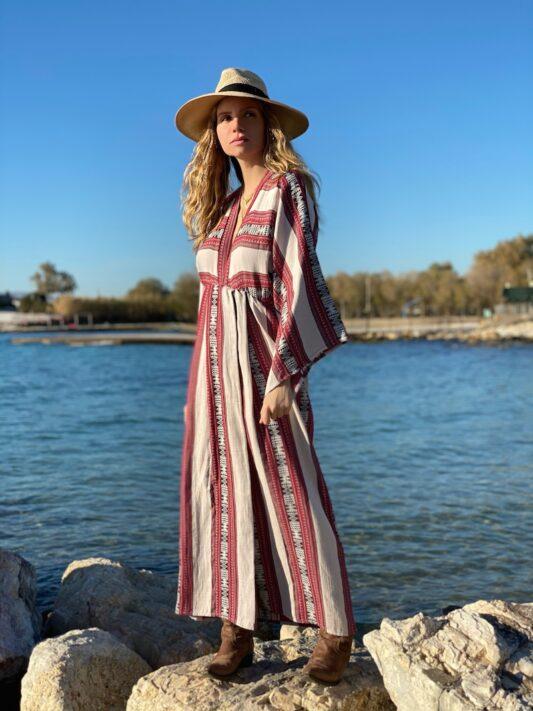 Celia Dragouni The Selena Kimono Dress
