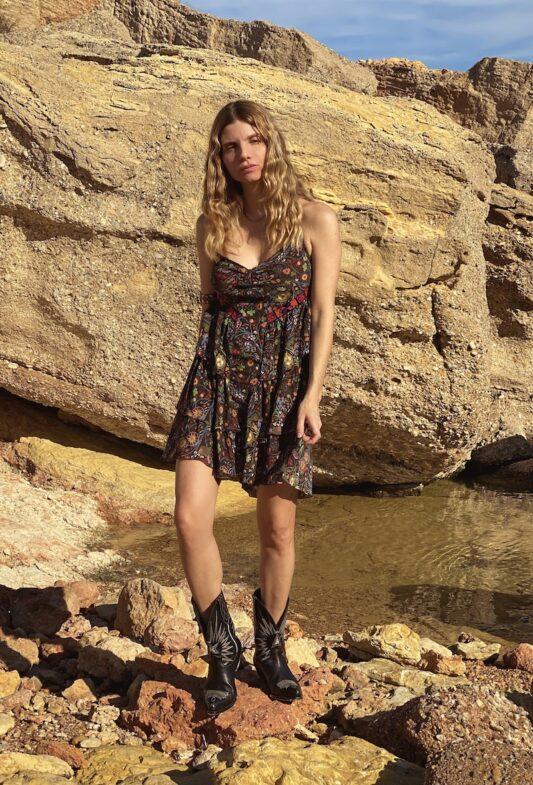 Celia Dragouni The Floral Lolita Dress