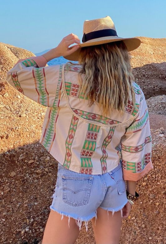 Celia Dragouni The Mexican Vibe Summer Jacket