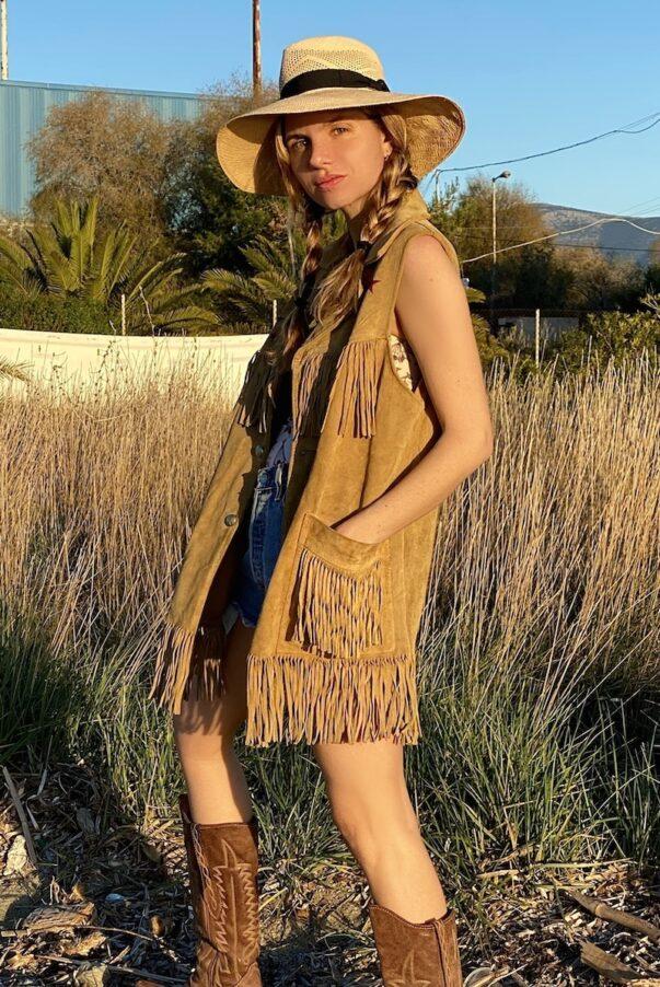 Celia Dragouni The Austin Vest