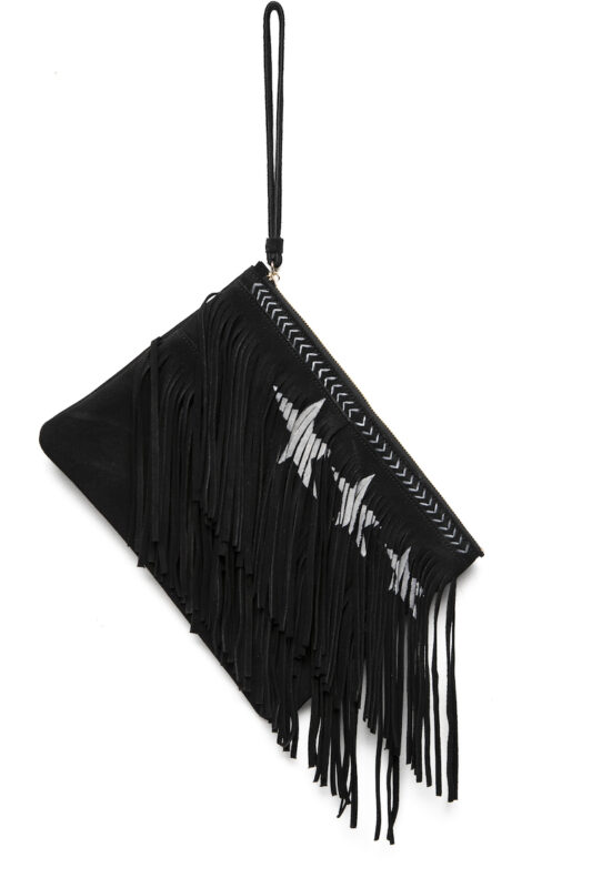 Celia Dragouni The Black Star Addict Clutch