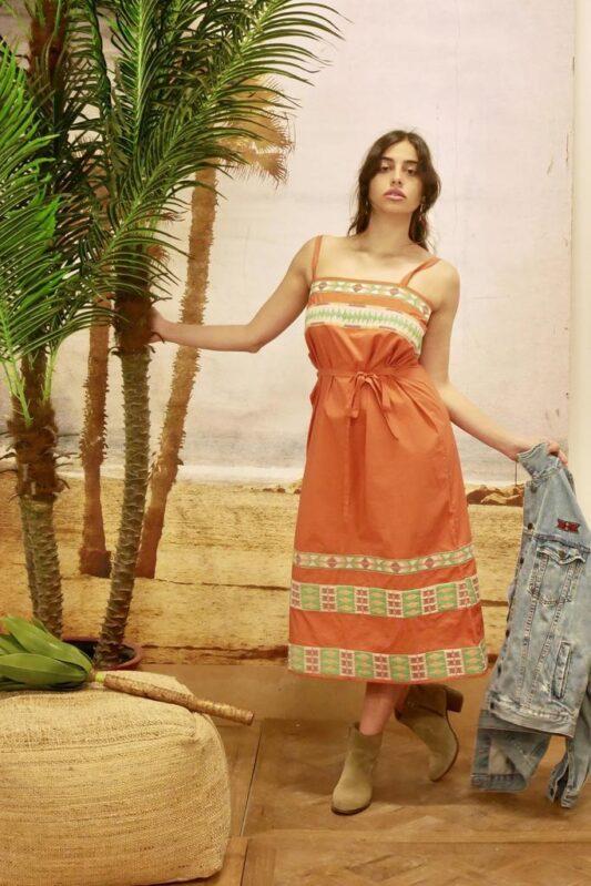 Celia Dragouni The Tayen Slip On Dress