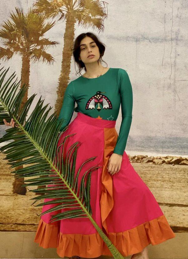 Celia Dragouni The Alinta Wrap Skirt
