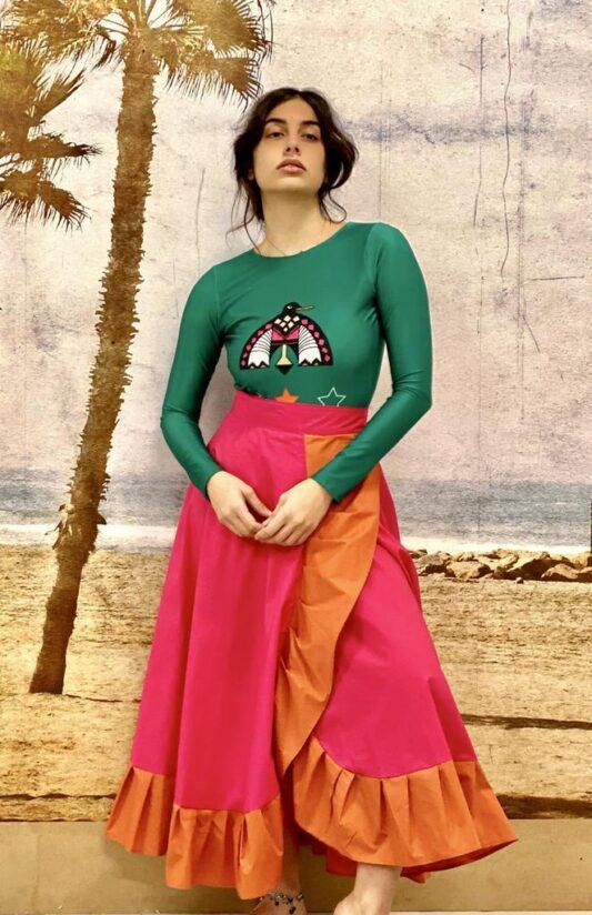 The Alinta Wrap Skirt