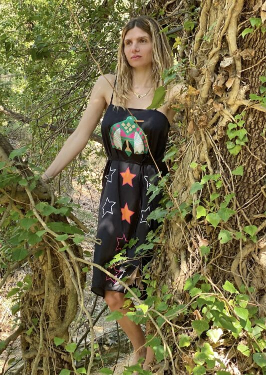 Celia Dragouni The Kaya Slip On Dress
