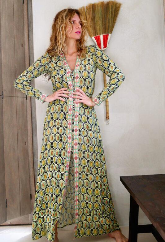 Celia Dragouni The Retro Field Button Dress