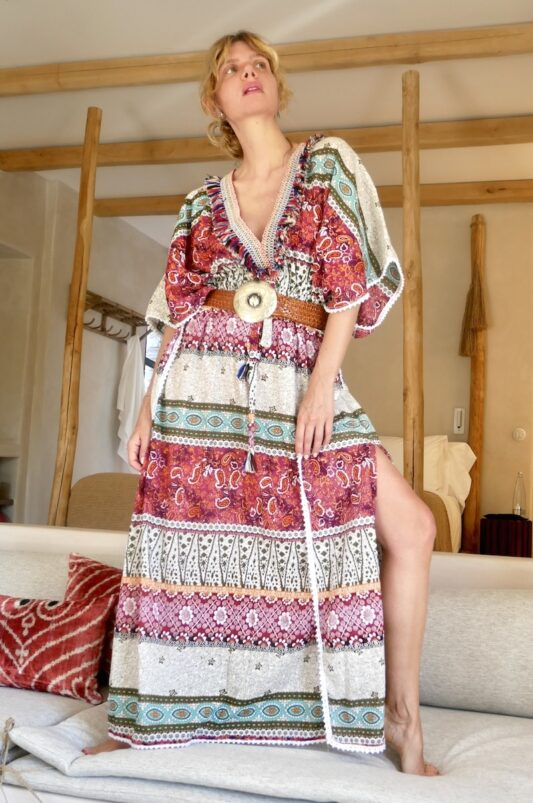 Celia Dragouni The Salalai Kaftan Dress